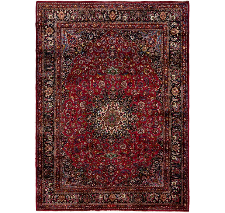 HandKnotted 11' x 15' 4 Mashad Persian Rug