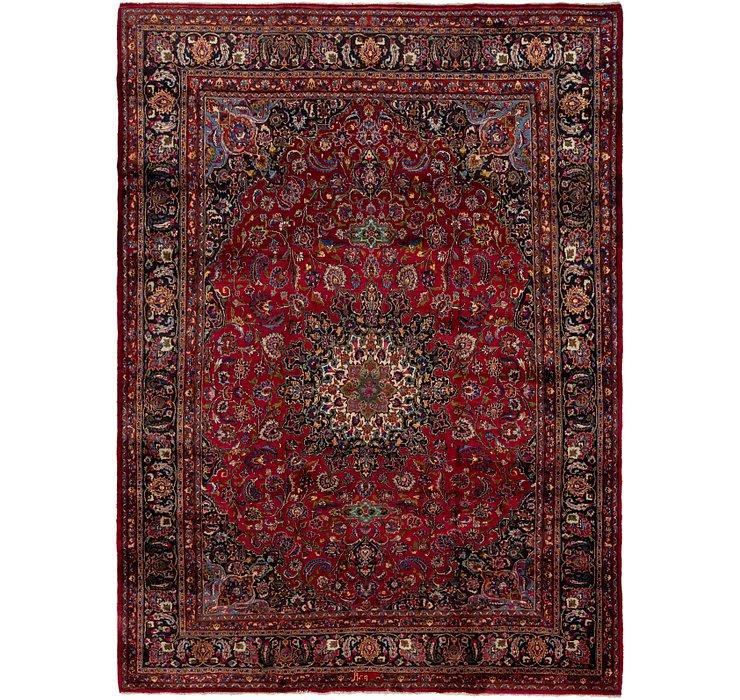 335cm x 467cm Mashad Persian Rug