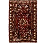 Link to 5' 4 x 8' 3 Ghashghaei Persian Rug