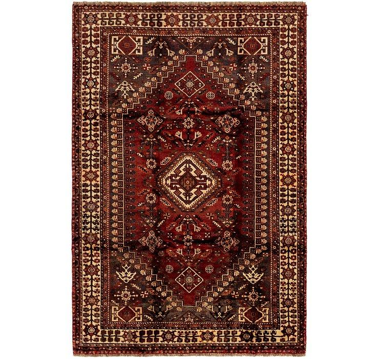 5' 4 x 8' 3 Ghashghaei Persian Rug