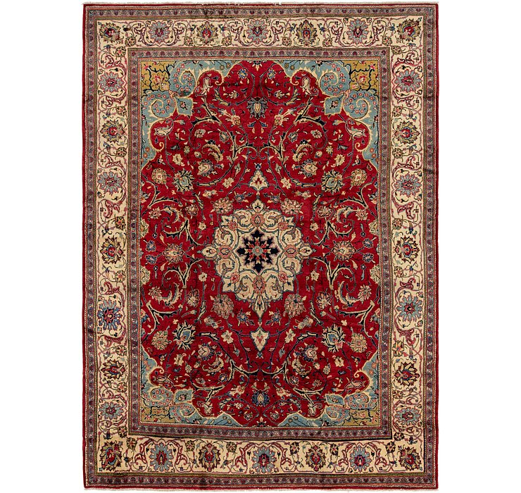 9' 9 x 13' 2 Sarough Persian Rug