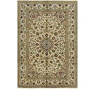 Link to 195cm x 292cm Kashan Persian Rug
