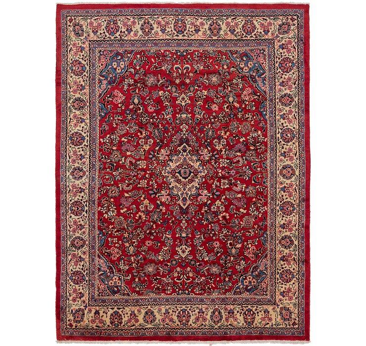 9' 7 x 13' 3 Meshkabad Persian Rug