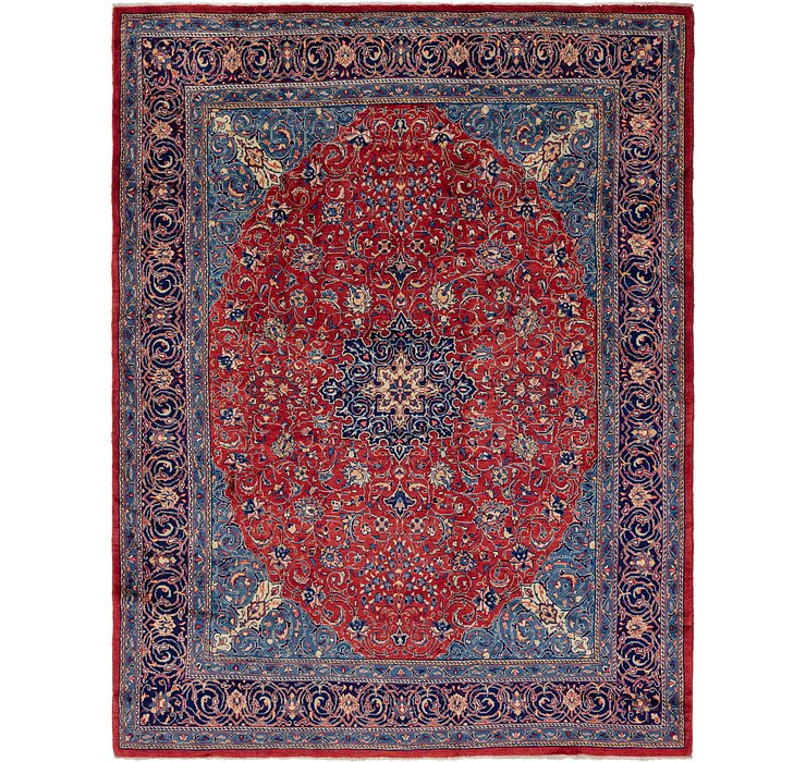 10' x 13' 5 Mahal Persian Rug