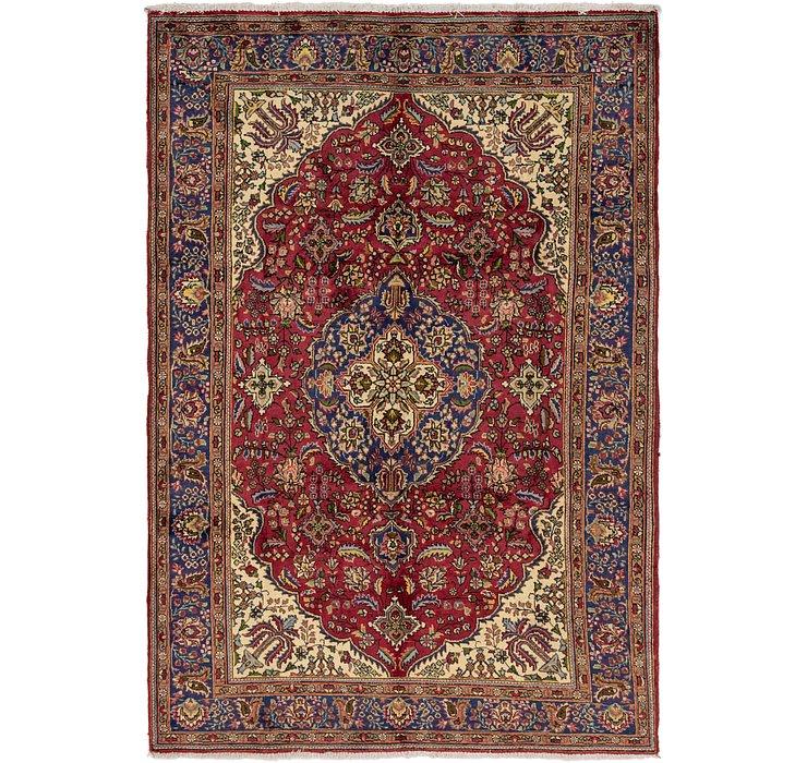 213cm x 312cm Tabriz Persian Rug