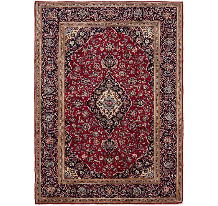 HandKnotted 8' x 11' 2 Kashan Persian Rug
