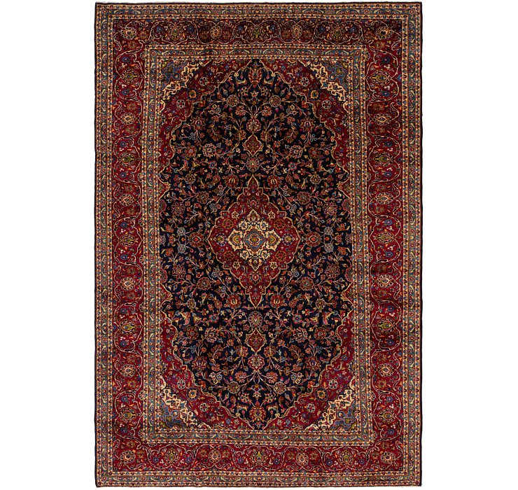 HandKnotted 9' 6 x 14' 5 Kashan Persian Rug