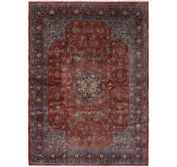 9' 5 x 13' Sarough Persian Rug