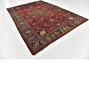 Link to 245cm x 350cm Mashad Persian Rug item page