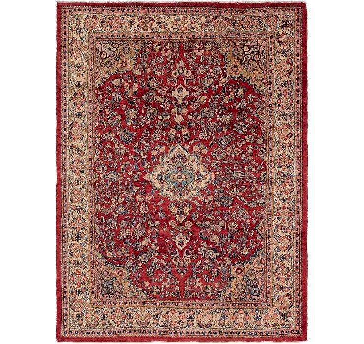 9' 4 x 13' Meshkabad Persian Rug