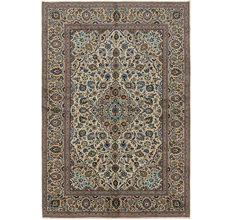 7' 10 x 11' 9 Kashan Persian Rug