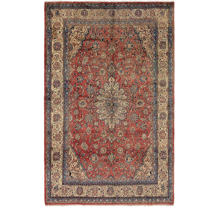 8' 2 x 13' 3 Sarough Persian Rug
