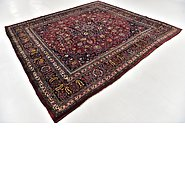 Link to 9' 3 x 9' 10 Mashad Persian Square Rug