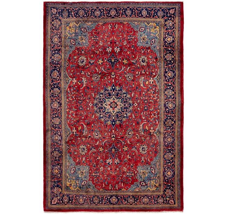 7' x 10' 9 Farahan Persian Rug