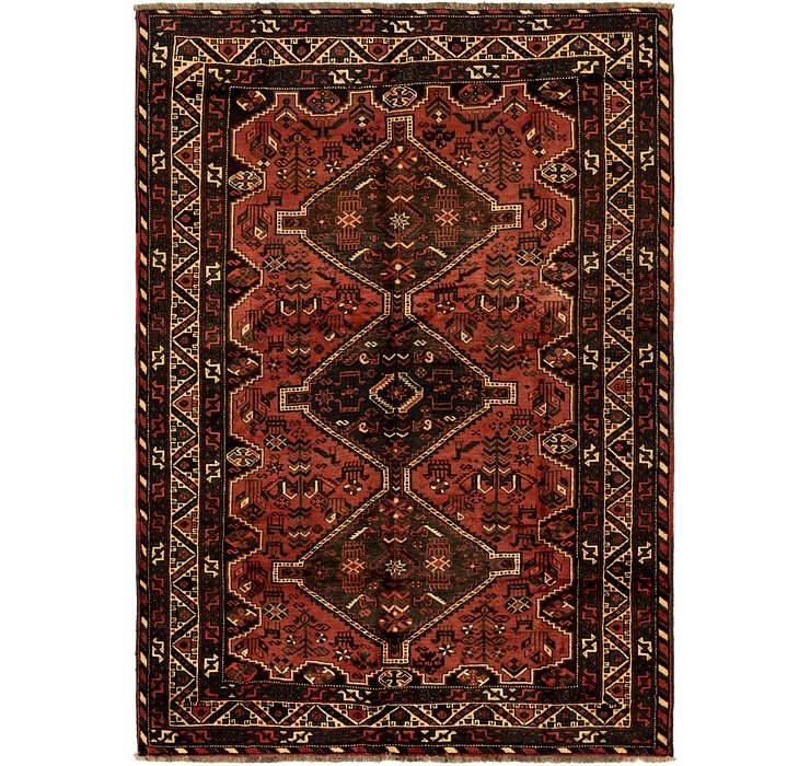 6' 9 x 9' 8 Ghashghaei Persian Rug