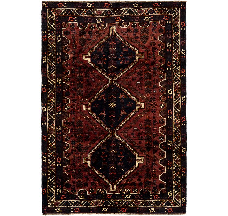 6' 4 x 9' 6 Ghashghaei Persian Rug