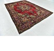 Link to 7' 10 x 11' 3 Tabriz Persian Rug