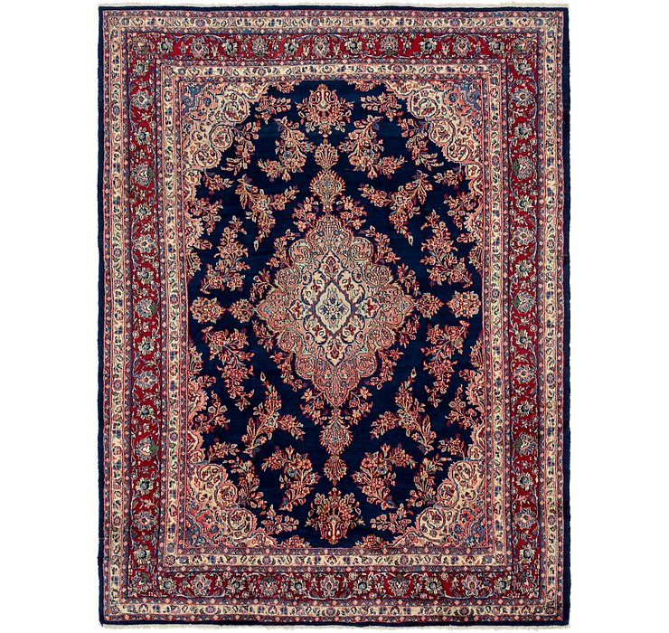 8' 7 x 12' Shahrbaft Persian Rug