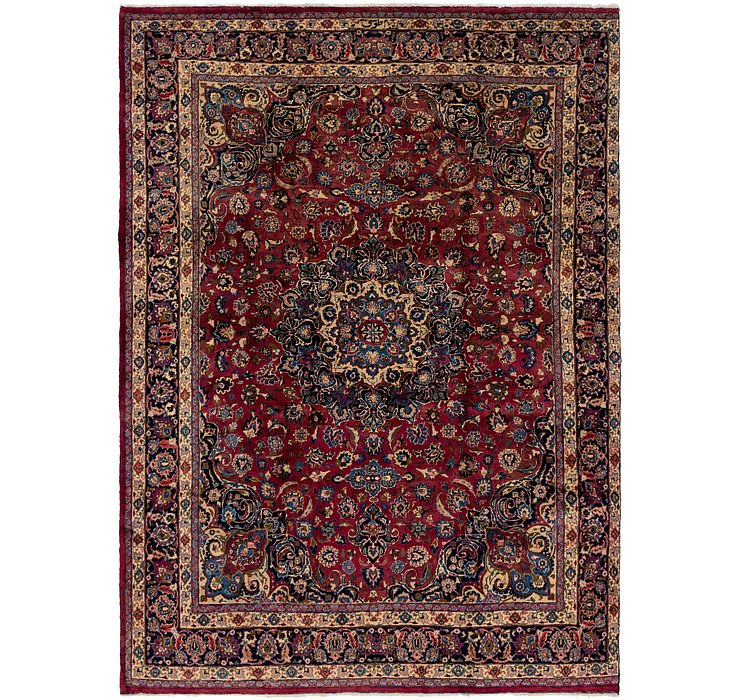 9' 6 x 13' 3 Mashad Persian Rug