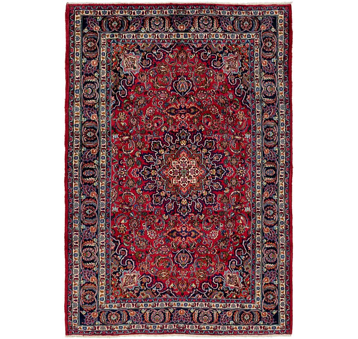 6' 8 x 9' 7 Mashad Persian Rug