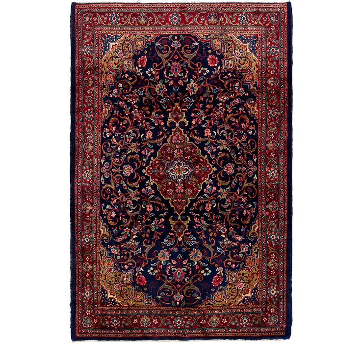 HandKnotted 7' x 10' 3 Mahal Persian Rug