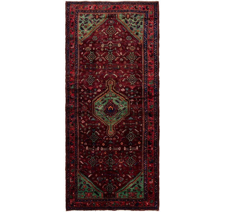 4' x 9' 7 Darjazin Persian Runner...
