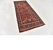 Link to 4' x 10' 3 Hamedan Persian Runner Rug