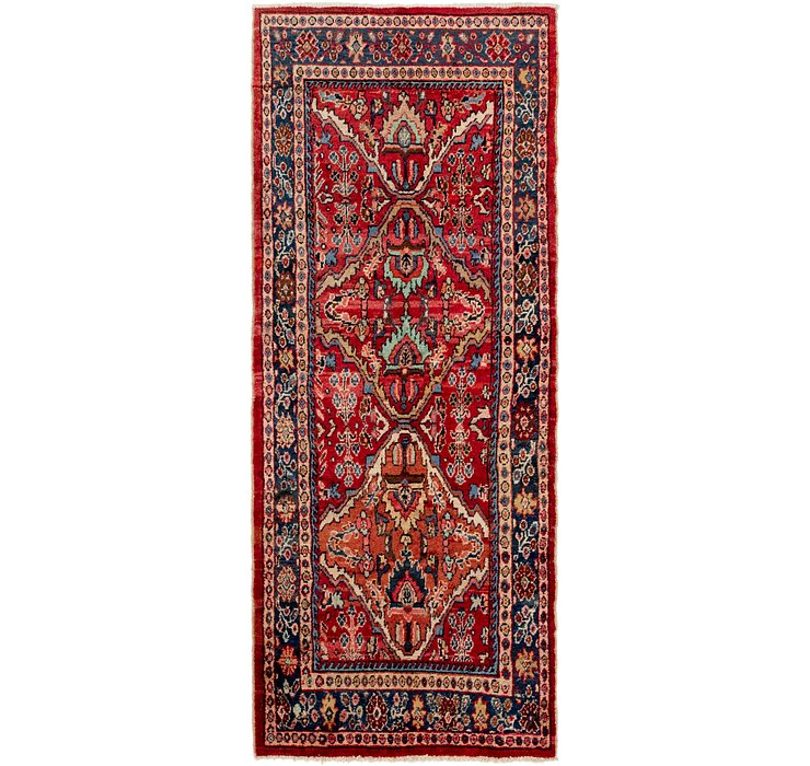 4' x 10' 3 Hamedan Persian Runner ...