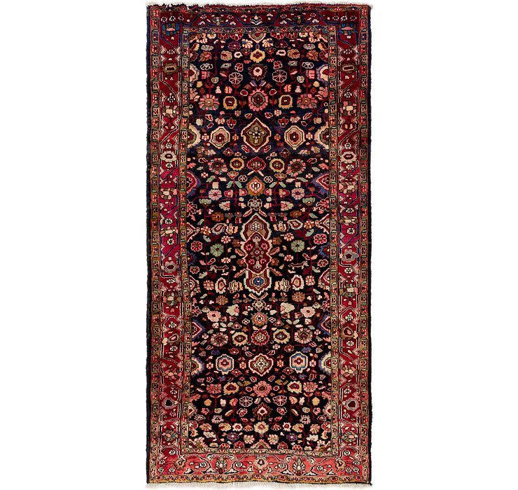 132cm x 275cm Gholtogh Persian Runner...
