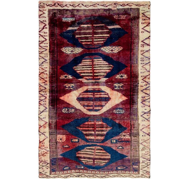 4' x 7' Shiraz Persian Rug