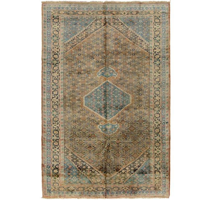 6' 5 x 9' 10 Bidjar Persian Rug
