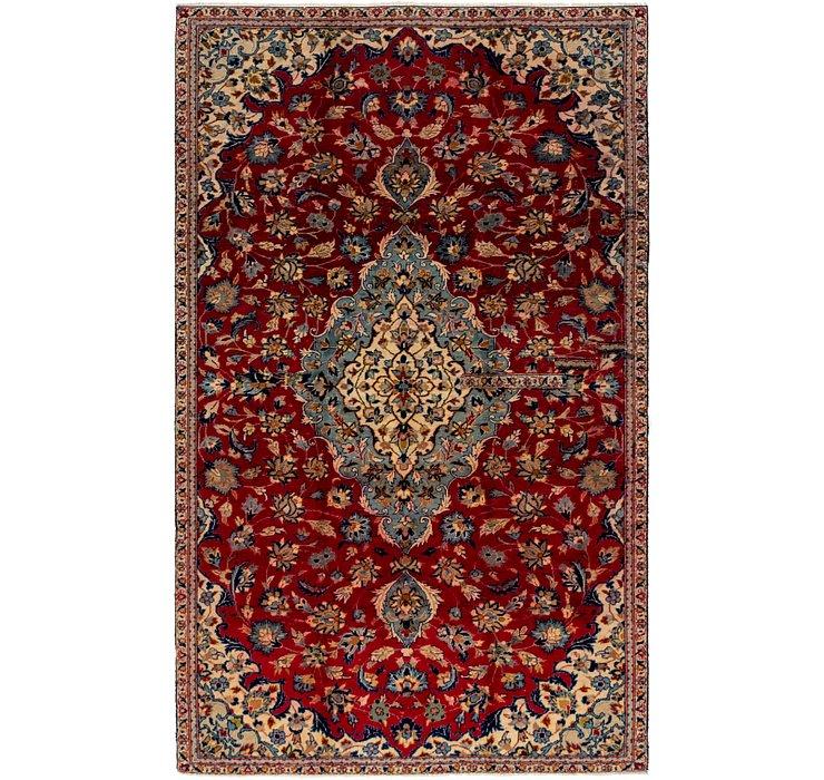 5' 4 x 8' 10 Isfahan Persian Rug