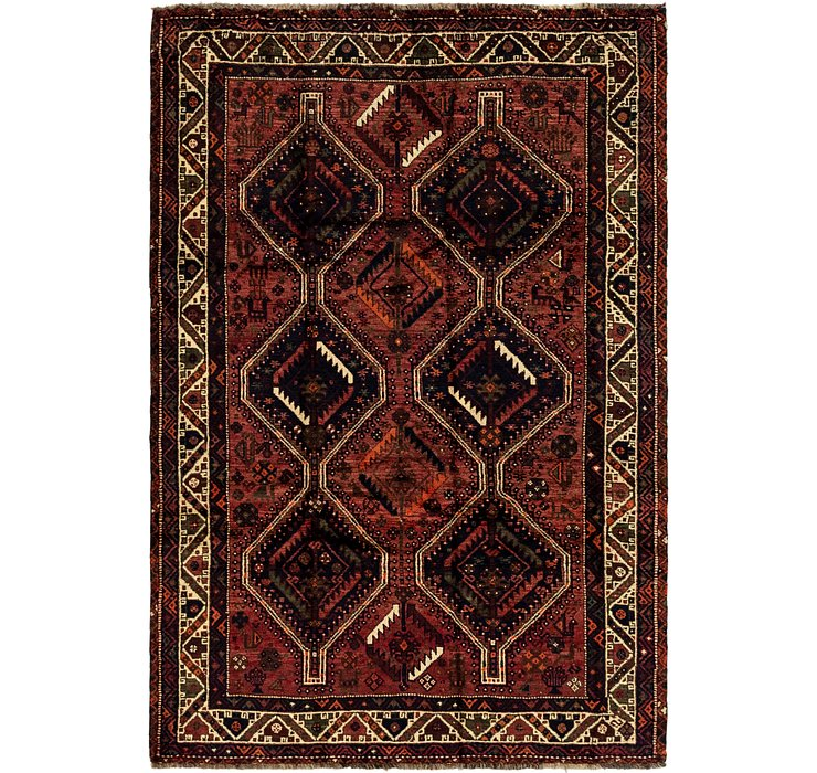 175cm x 257cm Ghashghaei Persian Rug