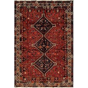 Link to 195cm x 287cm Ghashghaei Persian Rug page