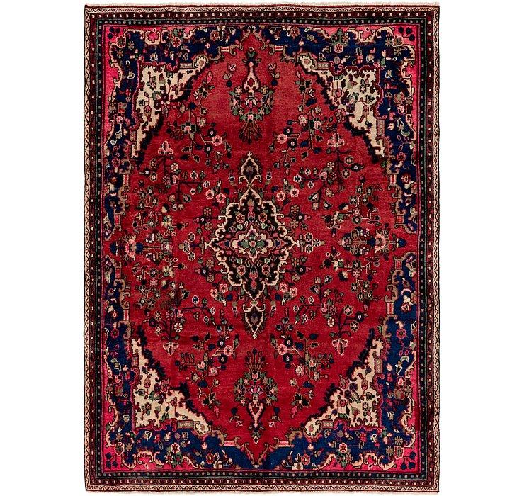 7' x 9' 10 Hamedan Persian Rug