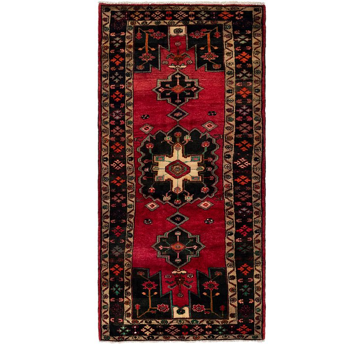 3' 10 x 8' 7 Koliaei Persian Runner ...