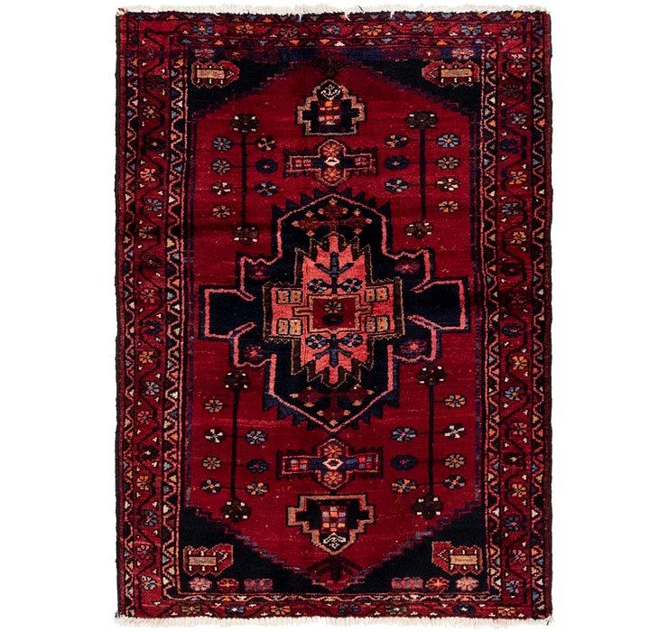 3' 3 x 4' 10 Shahsavand Persian Rug