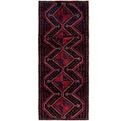 Link to 3' 9 x 9' Zanjan Persian Runner Rug