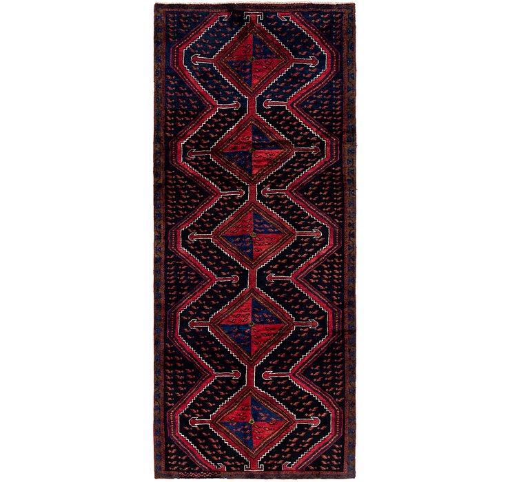 3' 9 x 9' Zanjan Persian Runner Rug