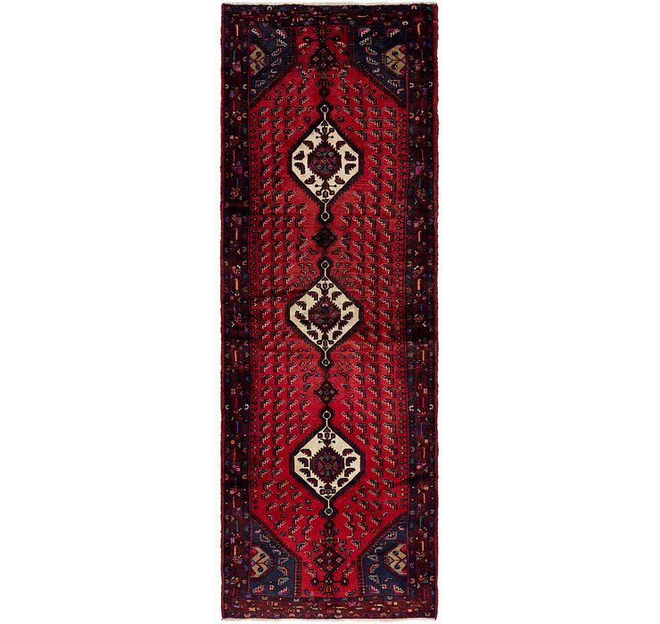 4' x 12' 9 Darjazin Persian Runner...
