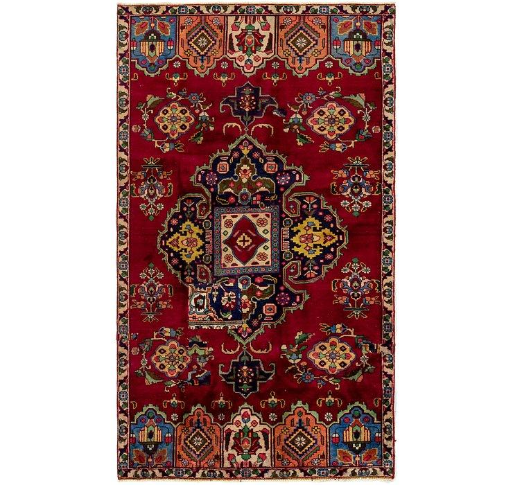 4' 10 x 8' 7 Tabriz Persian Rug