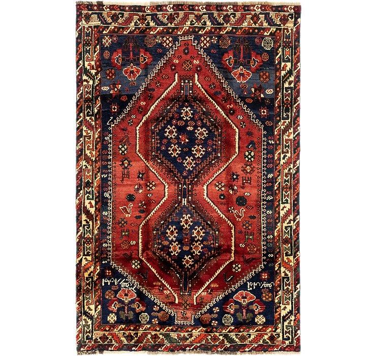 4' 10 x 7' 7 Ghashghaei Persian Rug