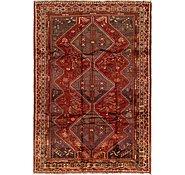 Link to 6' 3 x 9' Ghashghaei Persian Rug