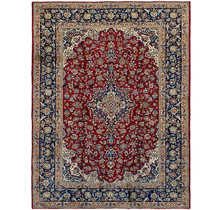 10' x 12' 6 Isfahan Persian Rug
