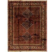 Link to 193cm x 250cm Ghashghaei Persian Rug