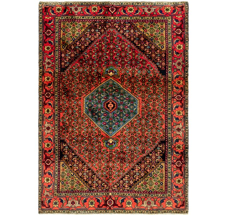 195cm x 275cm Bidjar Persian Rug