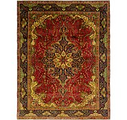 Link to 9' 7 x 12' 4 Tabriz Persian Rug