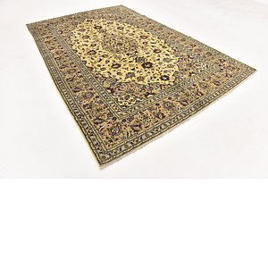 Link to 195cm x 292cm Kashan Persian Rug item page