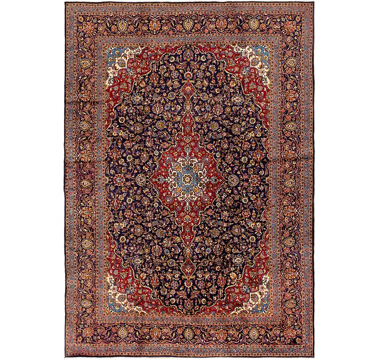 300cm x 427cm Kashan Persian Rug