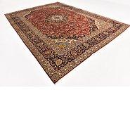 Link to 9' 8 x 13' 2 Kashan Persian Rug